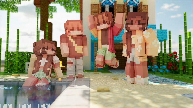Summer Vacation on the Minecraft Marketplace by CubeCraft Games