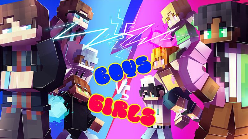 Boys Vs Girls on the Minecraft Marketplace by Hourglass Studios
