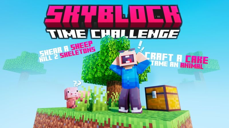 Skyblock Time Challenge on the Minecraft Marketplace by Cubed Creations