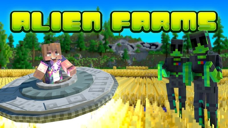 Alien Farms on the Minecraft Marketplace by Nitric Concepts