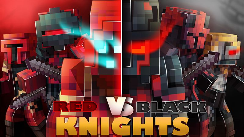 Red Vs Black Knights on the Minecraft Marketplace by Hourglass Studios