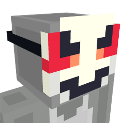 Hacker Mask on the Minecraft Marketplace by King Cube