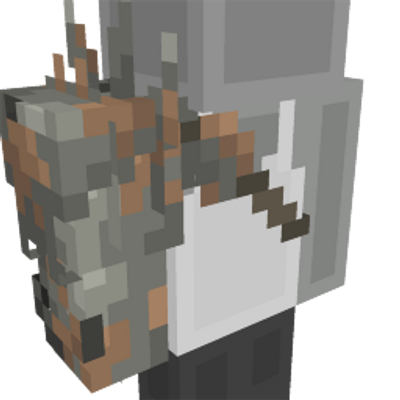 Rusted Cyborg Arm on the Minecraft Marketplace by Panascais