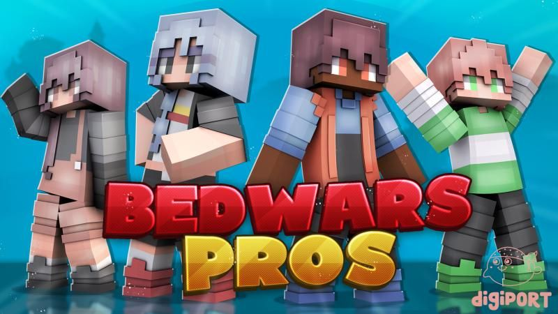 Bedwars Pros on the Minecraft Marketplace by DigiPort