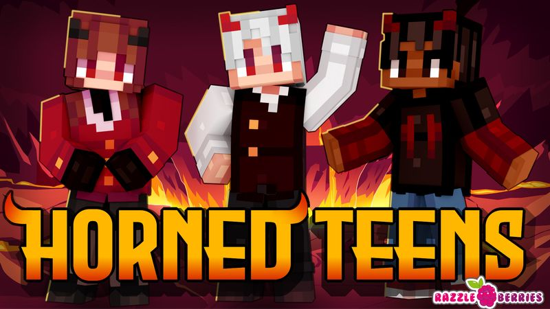 Horned Teens on the Minecraft Marketplace by Razzleberries