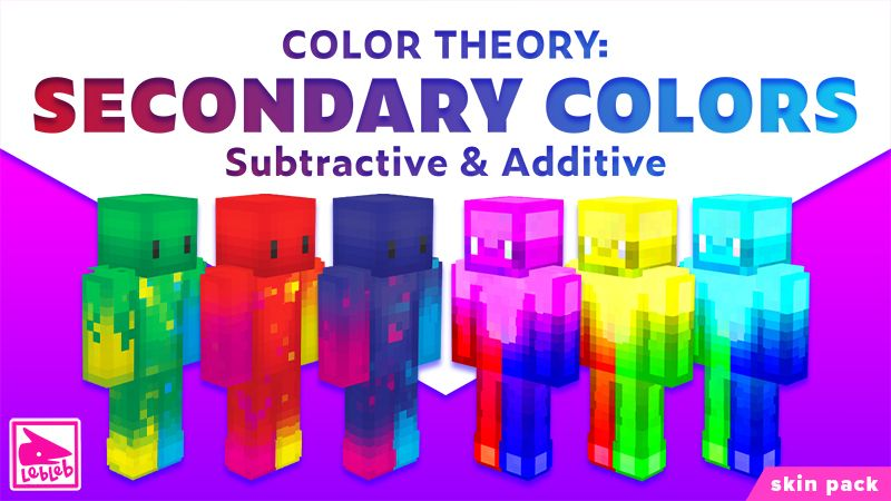 Color Theory Secondary Colors on the Minecraft Marketplace by Lebleb