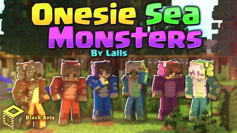 Onesie Sea Monsters on the Minecraft Marketplace by Black Arts Studios