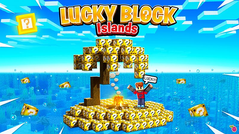 Lucky Block Islands on the Minecraft Marketplace by Razzleberries
