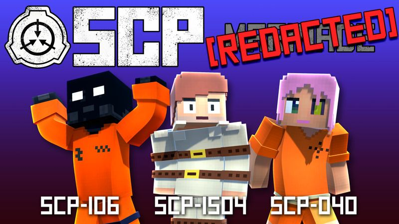 SCP Redacted HD on the Minecraft Marketplace by House of How