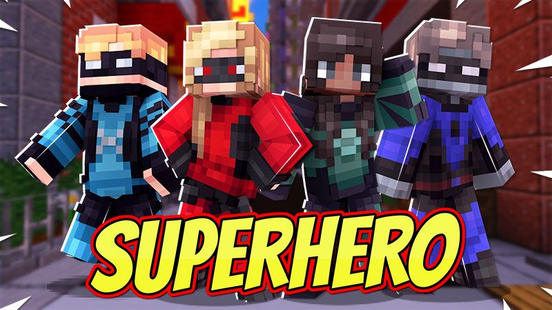 Superhero on the Minecraft Marketplace by Dig Down Studios