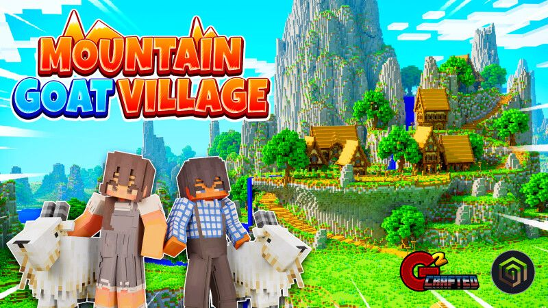 Mountain Goat Village on the Minecraft Marketplace by G2Crafted