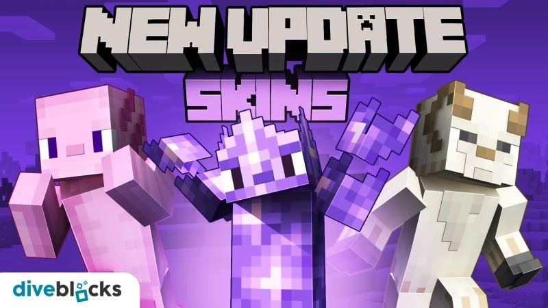 New Update Skins on the Minecraft Marketplace by Diveblocks