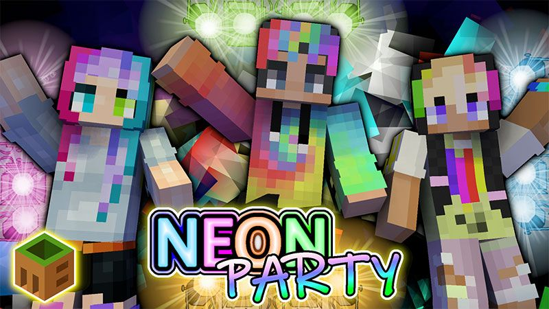 Neon Party on the Minecraft Marketplace by MobBlocks