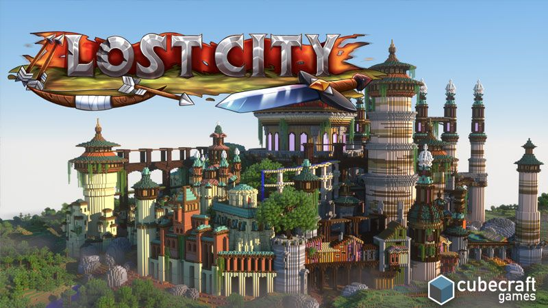 Lost City on the Minecraft Marketplace by CubeCraft Games