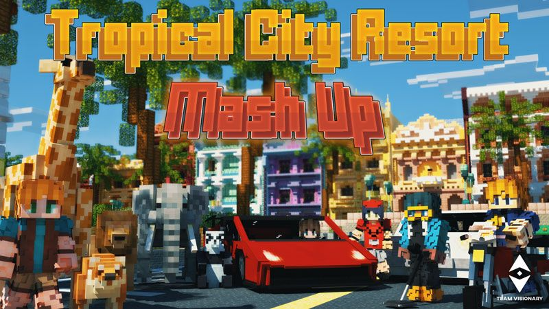 Tropical City Resort on the Minecraft Marketplace by Team Visionary