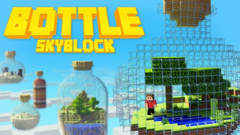 Bottle Skyblock on the Minecraft Marketplace by Lifeboat