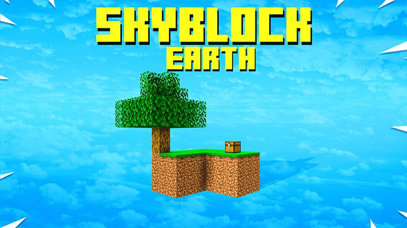 Skyblock Earth on the Minecraft Marketplace by ChewMingo