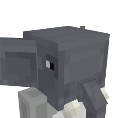 Elephant Head on the Minecraft Marketplace by Mine-North