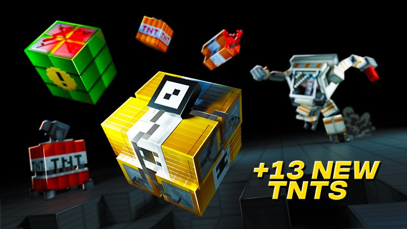 TNT on the Minecraft Marketplace by Spark Universe