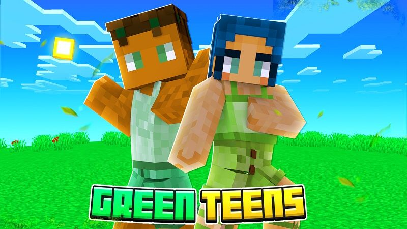 Green Teens on the Minecraft Marketplace by Nitric Concepts