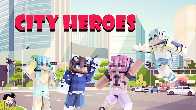 City Heroes on the Minecraft Marketplace by Duh