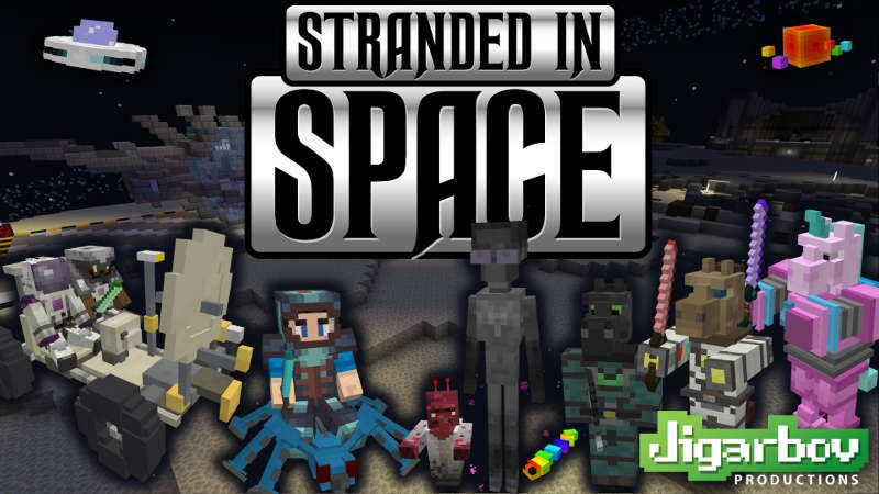 Stranded in Space on the Minecraft Marketplace by Jigarbov Productions