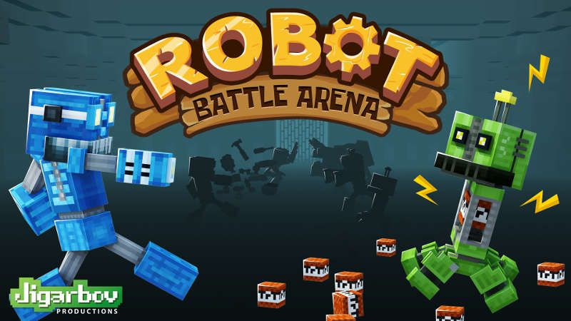 Robot Battle Arena on the Minecraft Marketplace by Jigarbov Productions