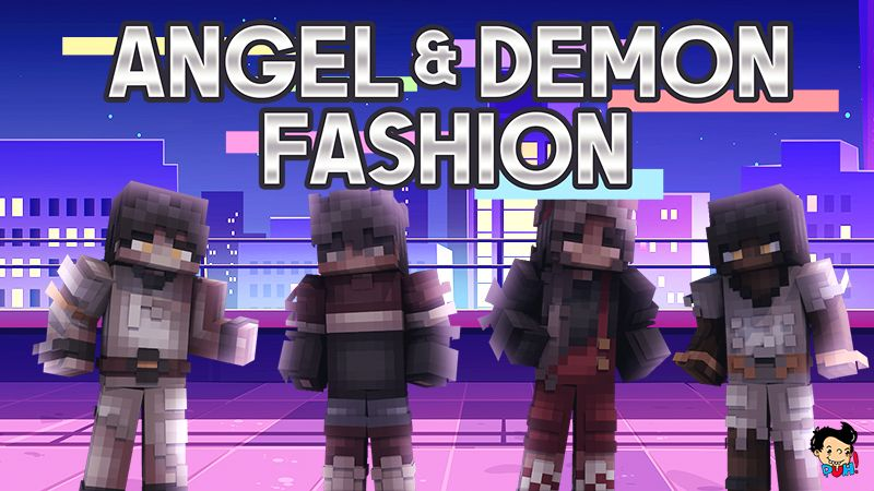 Angel and Demon Fashion on the Minecraft Marketplace by Duh