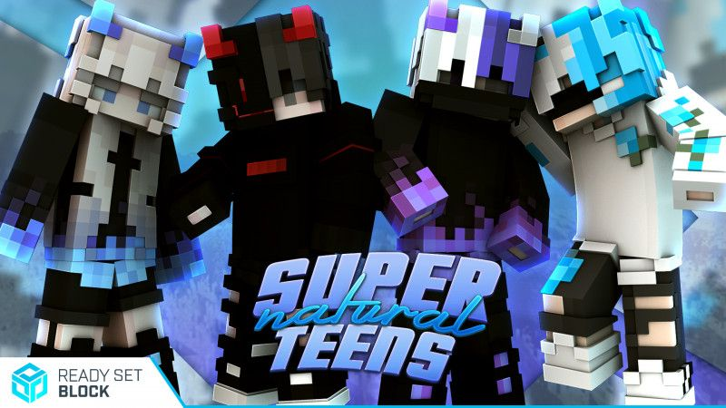 Supernatural Teens on the Minecraft Marketplace by Ready, Set, Block!
