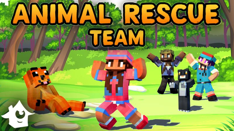 Animal Rescue Team on the Minecraft Marketplace by House of How