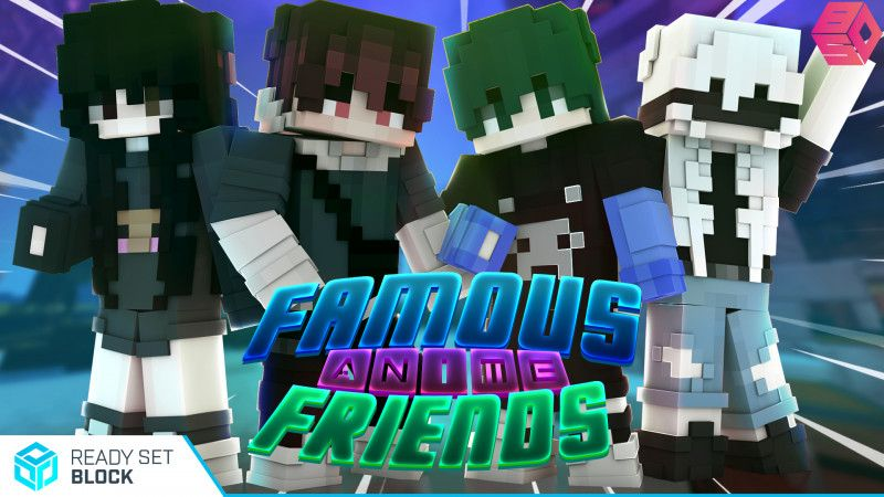 Famous Anime Friends on the Minecraft Marketplace by Ready, Set, Block!