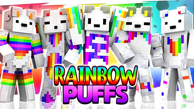Rainbow Puffs on the Minecraft Marketplace by Sapphire Studios