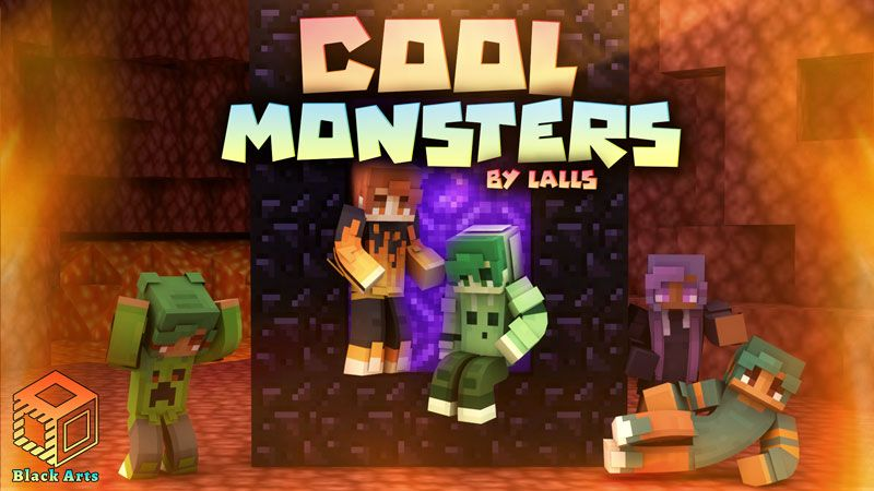 Cool Monsters on the Minecraft Marketplace by Black Arts Studio