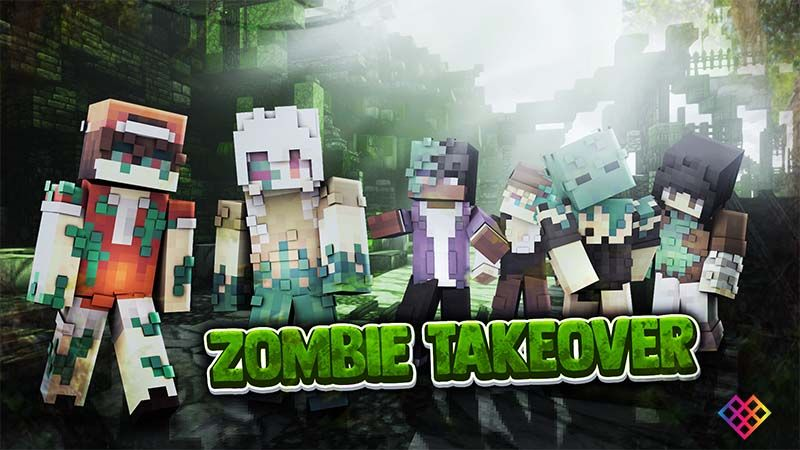 Zombie Takeover on the Minecraft Marketplace by Rainbow Theory