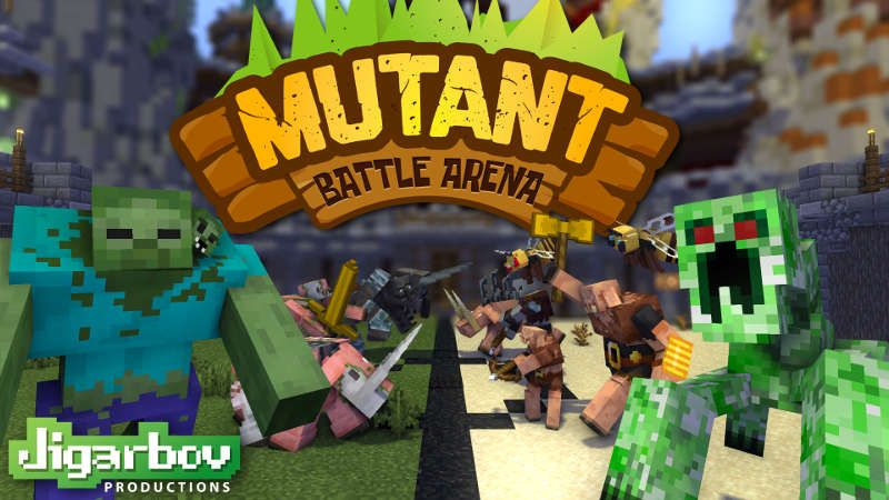 Mutant Battle Arena on the Minecraft Marketplace by Jigarbov Productions