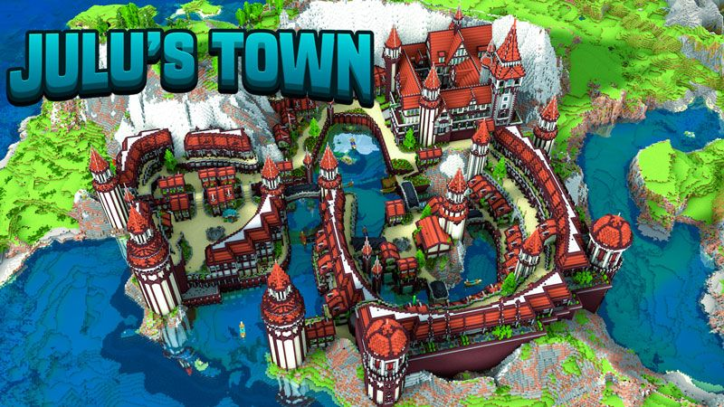 Julus Town on the Minecraft Marketplace by Impulse