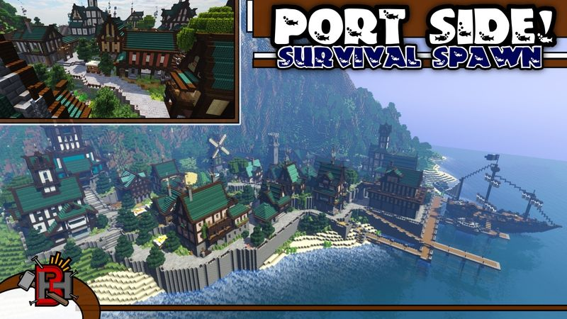Port Side on the Minecraft Marketplace by Builders Horizon