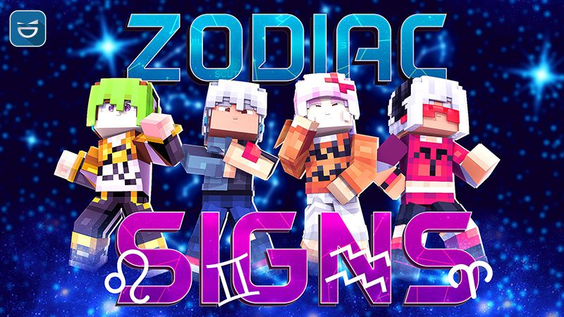 Zodiac Signs on the Minecraft Marketplace by Giggle Block Studios