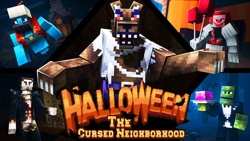 The Cursed Neighborhood on the Minecraft Marketplace by Square Dreams
