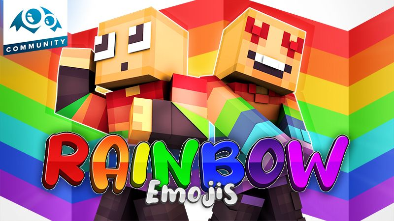 Rainbow Emojis on the Minecraft Marketplace by Monster Egg Studios
