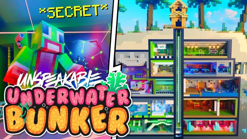 Unspeakable Underwater Bunker on the Minecraft Marketplace by Meatball Inc