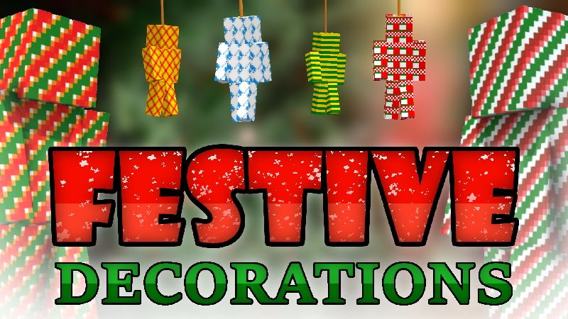 Festive Decorations on the Minecraft Marketplace by CompyCraft