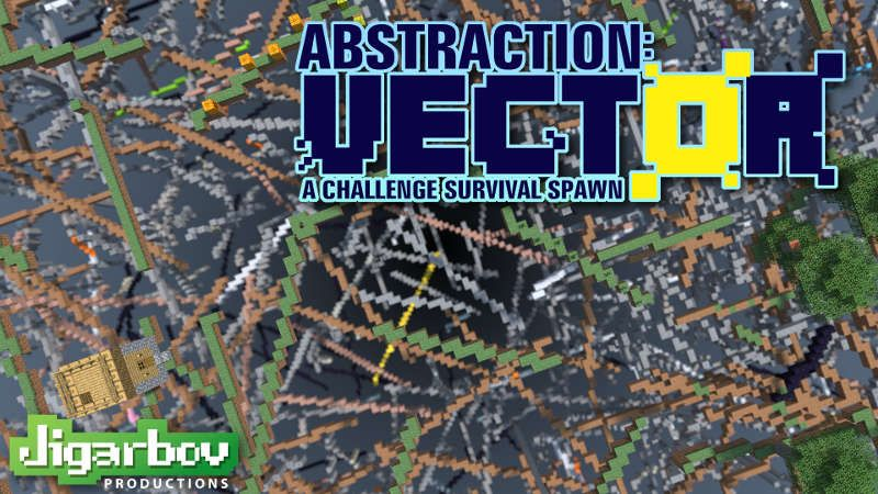 Abstraction VECTOR on the Minecraft Marketplace by Jigarbov Productions