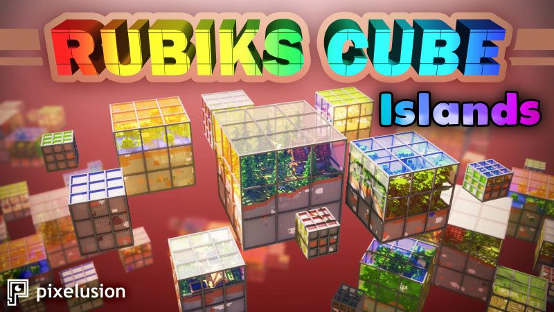 Rubiks Cube Islands on the Minecraft Marketplace by Pixelusion