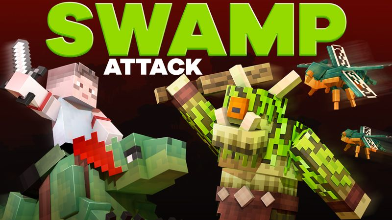 Swamp Attack on the Minecraft Marketplace by HorizonBlocks