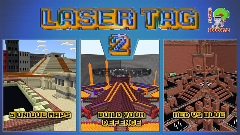 Laser Tag 2 on the Minecraft Marketplace by Sova Knights