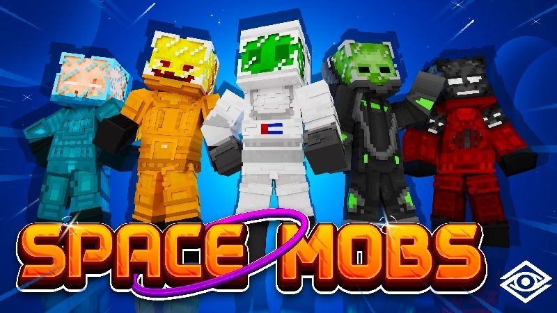 Space Mobs on the Minecraft Marketplace by Cynosia