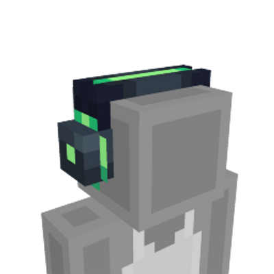 Neon Gaming Headset on the Minecraft Marketplace by Humblebright Studio