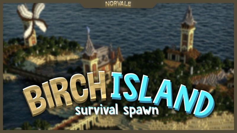Birch Island on the Minecraft Marketplace by Norvale