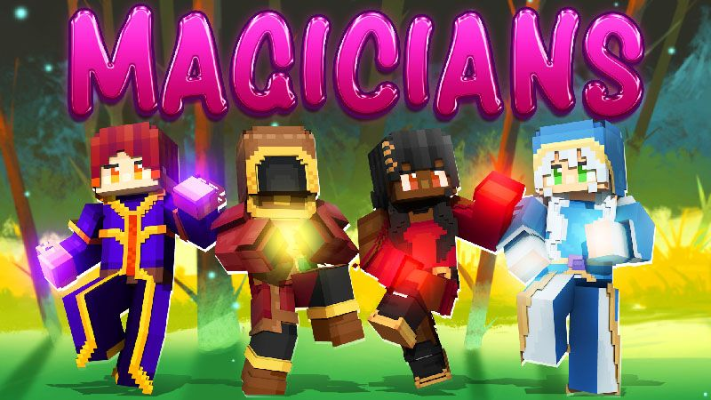 Magicians on the Minecraft Marketplace by Dark Lab Creations
